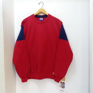 Dead Stock 90's Russell 2-Tone Sweat Shirts size M
