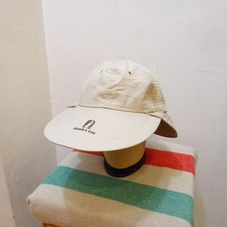 Dead Stock 80's Long Bill Cotton Fishing Cap size L (about 7 3/8)