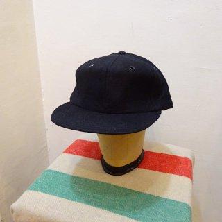 Dead Stock 50's Pioneer Cap Wool Baseball Cap Black size 7 5/8