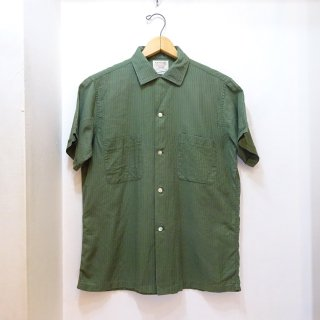 60's ARROW Cotton Open Collar Shirts size M