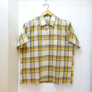 Dead Stock 60's Belvedere Open Collar Shirts size L