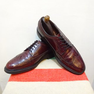 70's Lloyd & Haig Long Wing Leather Shoes size 9 D
