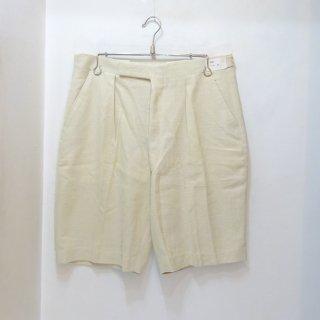 Dead Stock 70's Izod Off-White Cotton Shorts size 36(表記)