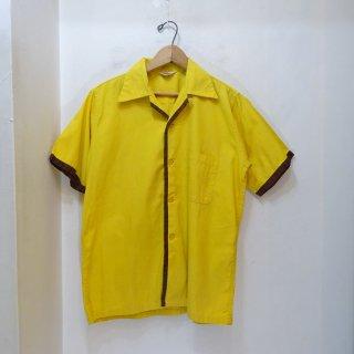 50's MODEL Cotton Open Collar Shirts size Boys 18