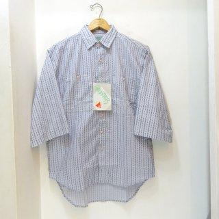 Dead Stock 80's SATURDAYS Half Sleeve Shirts size M