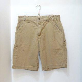 2009y Carhartt Brown Duck Work Shorts size W34