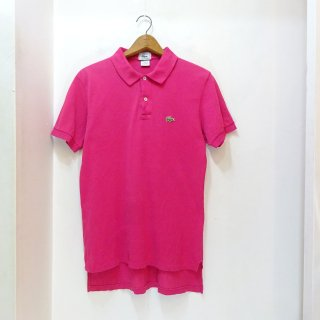 90's IZOD LACOSTE 鹿の子 ポロシャツ size M アメリカ製