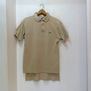 70's IZOD LACOSTE 鹿の子 ポロシャツ size L アメリカ製