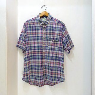 80's Northern Traders Indian Madras B.D Shirts size L