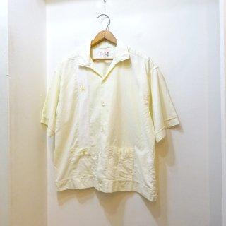 60's B.V.D Italian Collar Shirt Jac size XL
