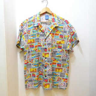 Late 80's Ocean Pacific Open Collar Shirts size L