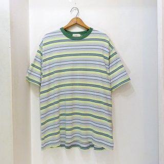 90's J.CREW Cotton Border T-Shirts size L