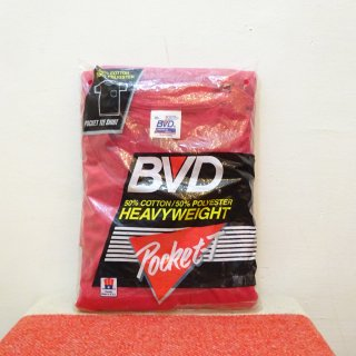 Dead Stock 90's BVD クルーネック Tシャツ アメリカ製 size XL