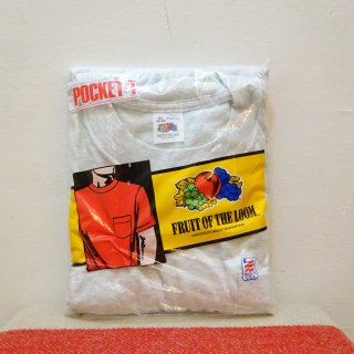 Dead Stock 90's Fruit of the Loom クルーネック Tシャツ アメリカ製 size XL