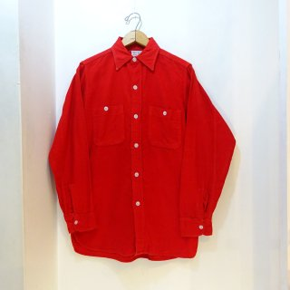 60's Winter King Heavy Flannel Work Shirts size about 15