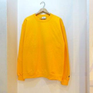 New Champion Crew Neck Sweat Shirts Yellow size L