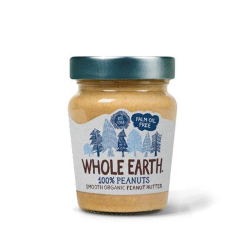 オーガニック 100% ピーナッツバター(スムース)(WHOLE EARTH/ホールアース)