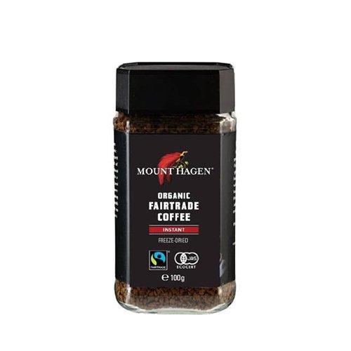 フェアトレード インスタントコーヒー/100g(MOUNT HAGENl/マウントハーゲン)