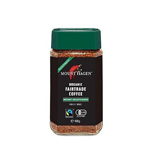 フェアトレード【カフェインレス】インスタントコーヒー/100g(MOUNT HAGENl/マウントハーゲン)