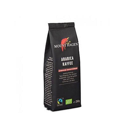 フェアトレード ロースト&グラウンド コーヒー 粉【カフェインレス】250g(MOUNT HAGENl/マウントハーゲン)