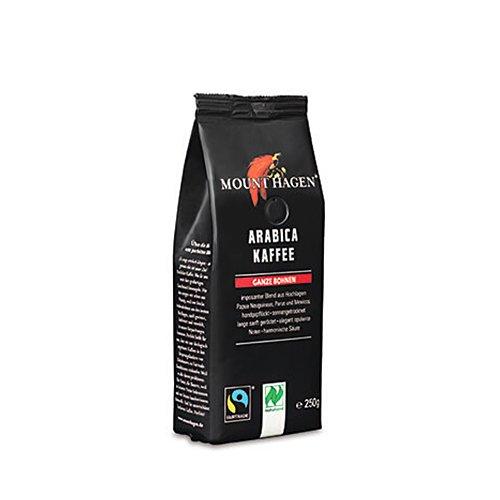 フェアトレード ロースト コーヒー ビーンズ 豆 250g(MOUNT HAGENl/マウントハーゲン)