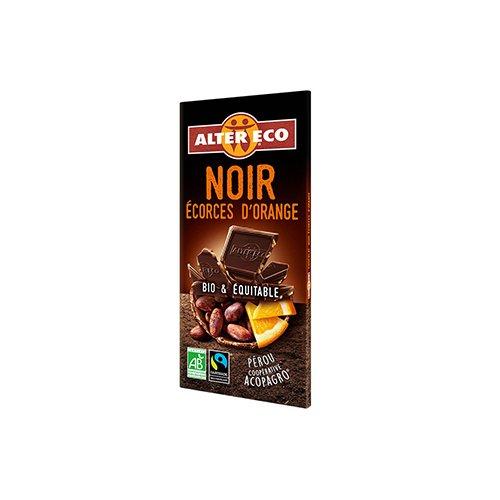 フェアトレード チョコレートオレンジ カカオ60%【ノワールオランジュ】(ALTER ECO/アルテルエコ)