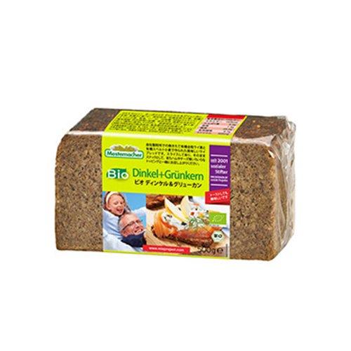 ディンケル&グリューンカン(ライ麦&スペルト小麦ブレッド)(Mestemacher/メステマッハー)