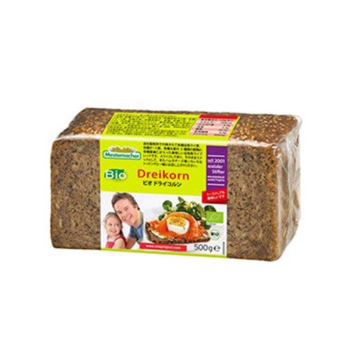 ドライコルン(3種穀物&亜麻仁ブレッド)(Mestemacher/メステマッハー)