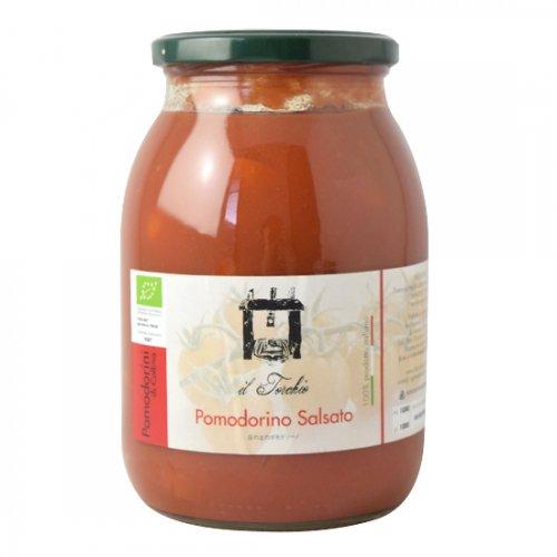 丘の上のポモドリーノ(チェリートマトの水煮)1000g