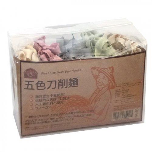 五色刀削麺  375g【G108】