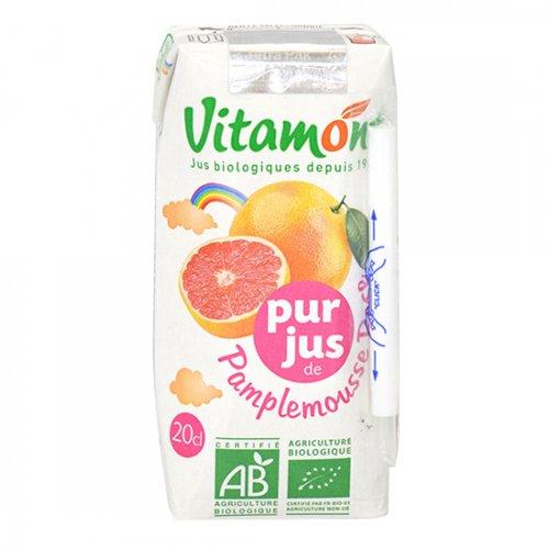 ヴィタモント オーガニックピンクグレープフルーツジュース 200ml【J42】