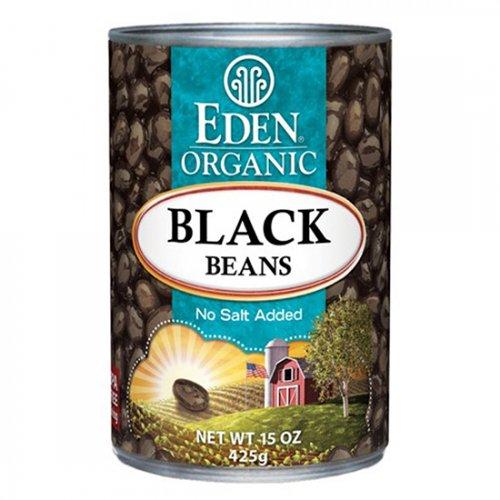 エデン ブラックビーンズ缶詰425g【P24】