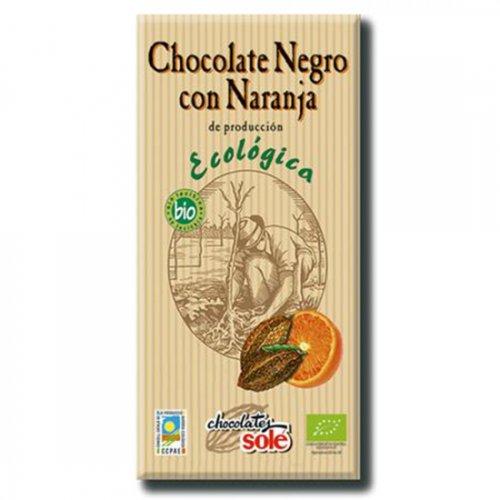 ダークチョコレート56%(オレンジ)100g(ヴィーガン対応)(Chocolate Sole/チョコレートソール)