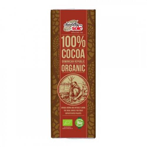 ダークチョコレート100% 25g(ヴィーガン対応)(Chocolate Sole/チョコレートソール)