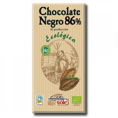 ダークチョコレート86% 100g(ヴィーガン対応)(Chocolate Sole/チョコレートソール)