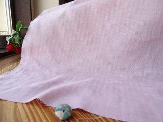 やんわり杢カラー柔らかダブルガーゼ・ピンク