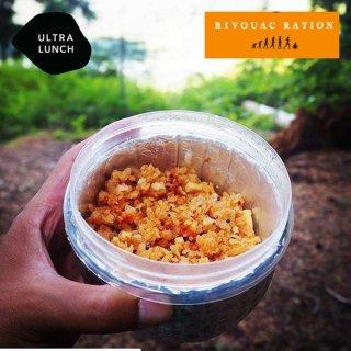 ULTRA LUNCH 【4食パック】BIVOUAC RATION(ビバークレーション) 熱湯2分でできあがる保存食(登山食)