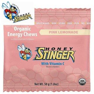【1個】HONEY STINGER ハニースティンガー オーガニック エナジーグミ ピンクレモネード