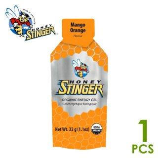 【1個】HONEY STINGER ハニースティンガー オーガニック エナジージェル マンゴーオレンジ
