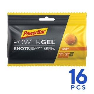 PowerBar パワーバー PowerGel Shots パワージェル・ショッツ オレンジ 1箱(16個入)