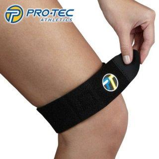 PROTEC プロテック IT-BAND COMPRESSION BAND 腸脛靭帯サポーター 長距離での筋肉のサポート