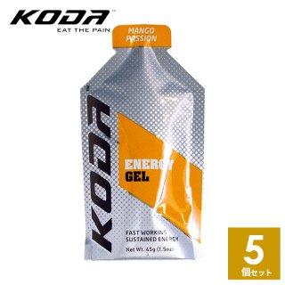KODA(コーダ) 旧shotz(ショッツ) エナジージェル マンゴーパッション味×5個セット