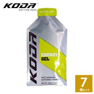 KODA(コーダ) 旧shotz(ショッツ) エナジージェル レモンライム味×7個セット