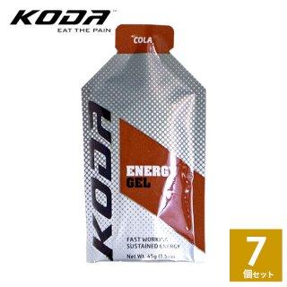 KODA(コーダ) 旧shotz(ショッツ) エナジージェル コーラ味×7個セット
