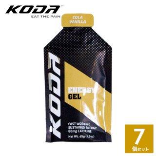 KODA(コーダ) 旧shotz(ショッツ) エナジージェル コーラバニラ味×7個セット