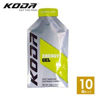 KODA(コーダ) 旧shotz(ショッツ) エナジージェル レモンライム味×10個セット