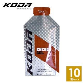 KODA(コーダ) 旧shotz(ショッツ) エナジージェル コーラ味×10個セット