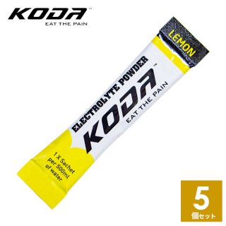 KODA(コーダ) 旧shotz(ショッツ) エレクトロライトパウダー 5本セット(4g×5本) 電解質ドリンクの決定版!