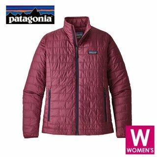 patagonia パタゴニア ナノ・パフ・ジャケット レディース フルジップ ジャケット