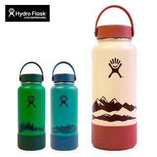 Hydro Flask(ハイドロフラスク)32oz Wide Mouth ESCAPE COLLECTION 真空断熱ステンレスボトル 限定モデル